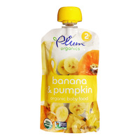 Plum Organics Purees - Banana & Pumpkin