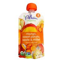Plum Organics Purees - Mango, Sweet Potato, Apple & Millet