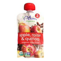 Plum Organics Purees - Apple, Raisin & Quinoa
