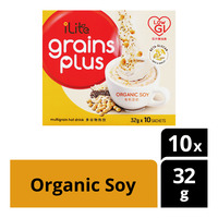 iLlte Grains Plus Multigrain Hot Drink - Organic Soy