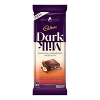 Cadbury Dark Milk Chocolate Block -Roasted&Caramelised Hazelnuts