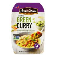 CJ Annie Chun's Curry with Brown Rice & Red Quinoa - Green(Thai)