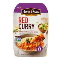 CJ Annie Chun's Curry with Brown Rice & Red Quinoa - Red(Indian)