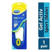 Scholl Gel Activ Insoles - Sport (Male)
