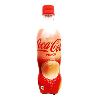 Coca-Cola Bottle Drink - Peach