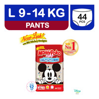 MamyPoko Disney Mickey Diapers - L (9 - 14kg)