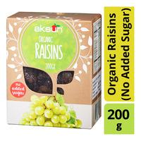 Aksun Organic Dried Raisins (No Added Sugar)