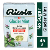 Ricola Natural Relief Swiss Herb Lozenges - Glacier Mint