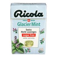 Ricola Natural Relief Swiss Herb Lozenges - Glacier Mint