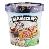 Ben & Jerry's Non-Dairy Ice Cream - Coconut Seven Layer Bar