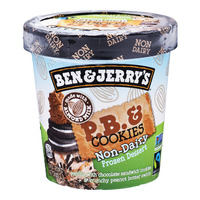 Ben & Jerry's Non-Dairy Ice Cream - PB & Cookies