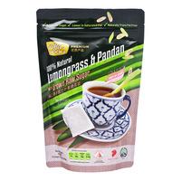 Coffee Hock Tea Bags - Lemongrass & Pandan with Brown Sugar