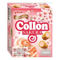Glico Collon Biscuit Roll - Sakura