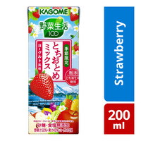 Kagome Packet Juice - Strawberry Mix