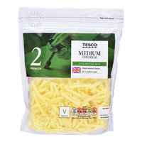Tesco Medium Grated Cheese - Cheddar