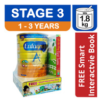 Enfagrow A+ Growing Up Milk Formula - Stage 3 + Free Book