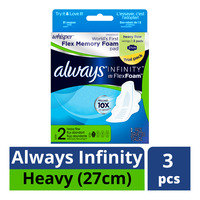 Whisper Always Infinity Wing Pads - Heavy (27cm)
