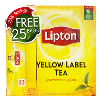 Lipton Yellow Label Tea Bags -International+BlackTea
