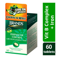 Brand's Essence of Chicken Tablets - Vit B Complex + Iron