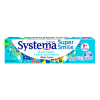 Systema Super Smile Toothpaste - Bubble Burst (8+ years)