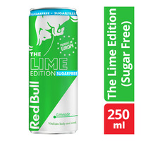 Red Bull Energy Can Drink - The Lime Edition (Sugar Free)