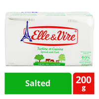 Elle & Vire Block Butter - Salted