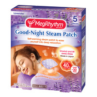 MegRhythm Good-Night Steam Patch - Lavender