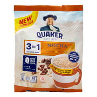 Quaker 3 in 1 Oat Cereal Drink - Mocha