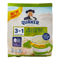 Quaker 3 in 1 Oat Cereal Drink - Matcha Green Tea