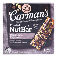 Carman's Nut Bars - Dark Chocolate Espresso