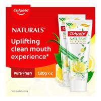 Colgate Naturals Anticavity Toothpaste - Pure Fresh