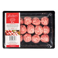 The Gourmet's Pack Premium Frozen Beef & Pork Meatballs