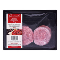 The Gourmet's Pack Premium Beef & Pork Burger Patties