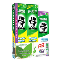 Darlie Double Action Toothpaste - Original + Free Mint