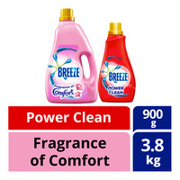 Breeze Liquid Detergent - Comfort + Power Clean