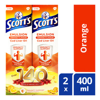 Scott's Emulsion Cod Liver Oil - Orange