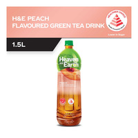 Heaven & Earth Bottle Drink - Peach Green Tea