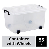 Imported Container with Wheels