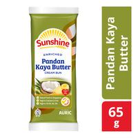 Sunshine Cream Bun - Pandan Kaya Butter