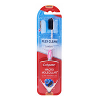 Colgate Slim Soft Flex Clean Toothbrush - Charcoal