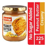 Fretz fruta Peanut Butter - Creamy (No Sugar Added)