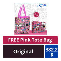 Oreo Cookie Sandwich Biscuit - Original + Pink Tote Bag