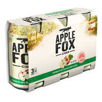 Apple Fox Can Cider - Apple