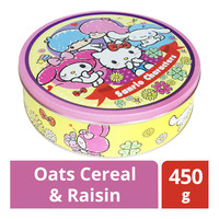 Sanrio Butter Cookies - Oats Cereal & Raisin