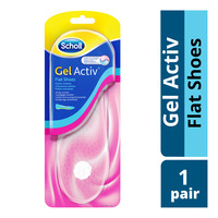 Scholl Gel Activ Insoles - Flat Shoes