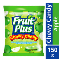 Fruit Plus Chewy Candy - Apple