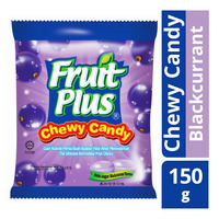 Fruit Plus Chewy Candy - Blackcurrant