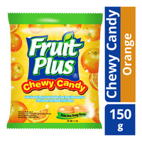 Fruit Plus Chewy Candy - Orange