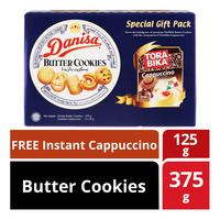 Danisa Butter Cookies +Free Torabika Instant Cappuccino