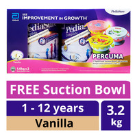 PediaSure Complete Milk Powder - Vanilla + Free Suction Bowl